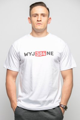 T-shirt Diamante Wear WYJ384NE biały