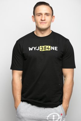 T-shirt Diamante Wear WYJ384NE czarny
