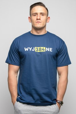 T-shirt Diamante Wear WYJ384NE granatowy