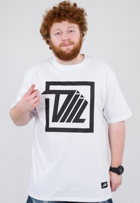 T-shirt Diil Next Level Square biały