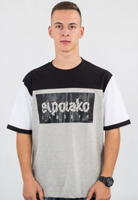 T-shirt El Polako 3 Colors EP szary