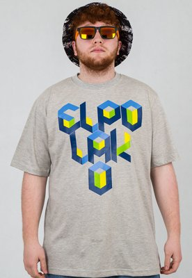 T-shirt El Polako Box szary
