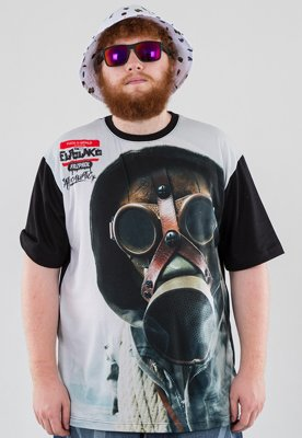 T-shirt El Polako Gas Mask czarny