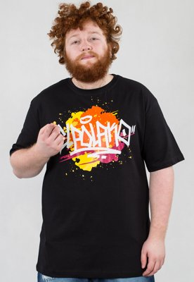 T-shirt El Polako Splash czarny