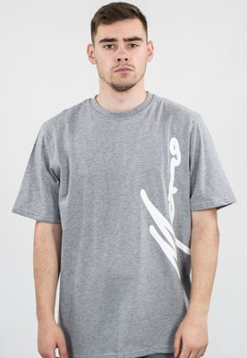 T-shirt Moro Sport Big Side Paris szary