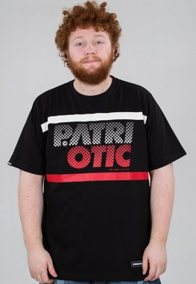T-shirt Patriotic Particles czarny