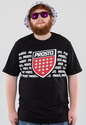 T-shirt Prosto Blocks czarny