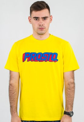 T-shirt Prosto Like A Child żółty