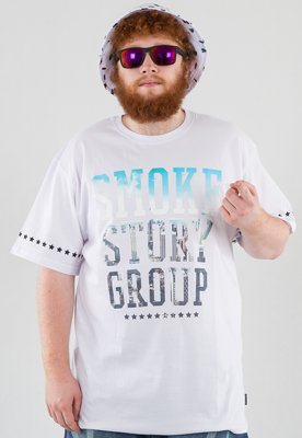 T-shirt SSG Smoke Photo biały