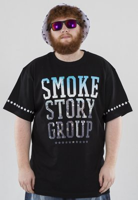 T-shirt SSG Smoke Photo czarny