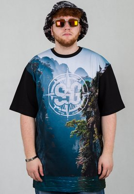T-shirt SSG Waterfall czarny