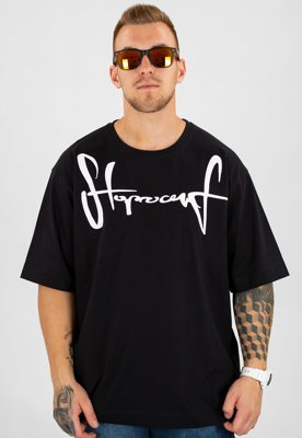 T-shirt Stoprocent Baggy Tag17 czarny