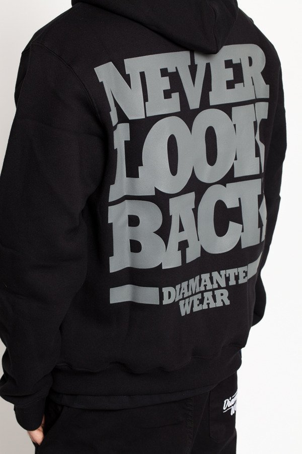Bluza Diamante Wear Never Look Back Zip czarna