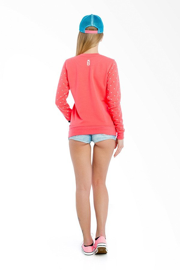 Bluza Lucky Dice New Crewneck Girl różowa