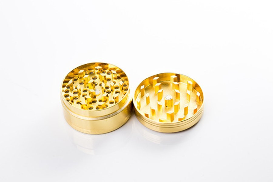 Grinder Diamante Wear Smokers Club złoty