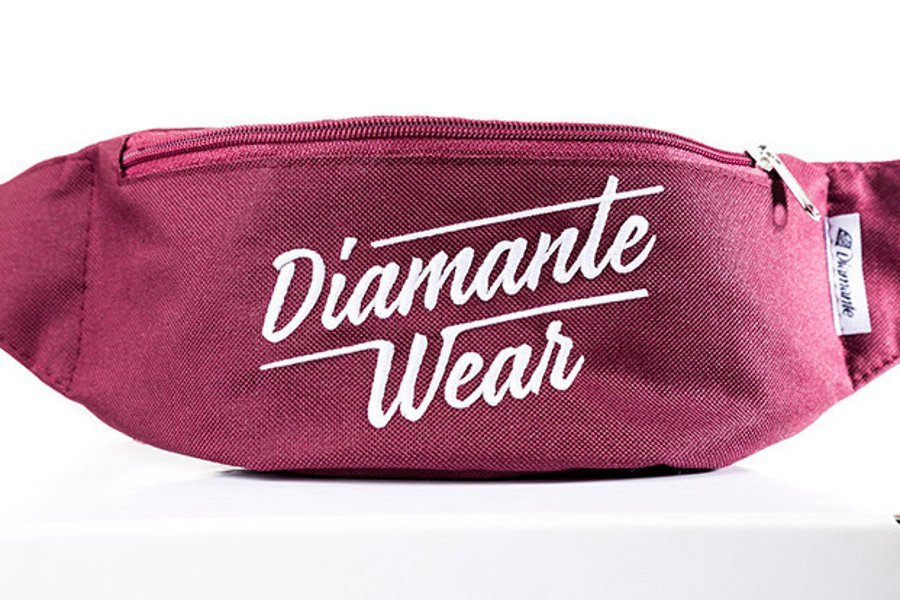 Nerka Diamante Wear Diamante Logo bordowa