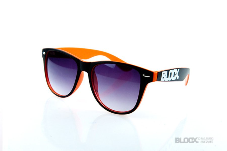 Okulary Blocx Circle Black x Orange 2015 69