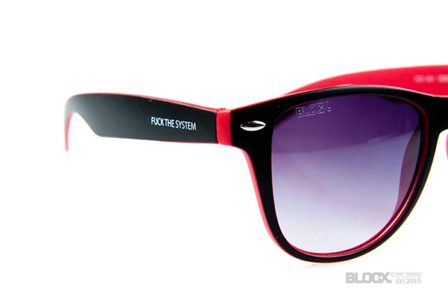 Okulary Blocx Circle Black x Red 2015 70