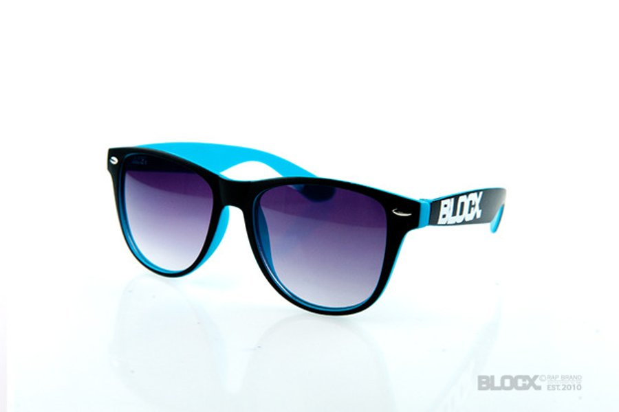 Okulary Blocx Circle Black x Turkus 2015 71