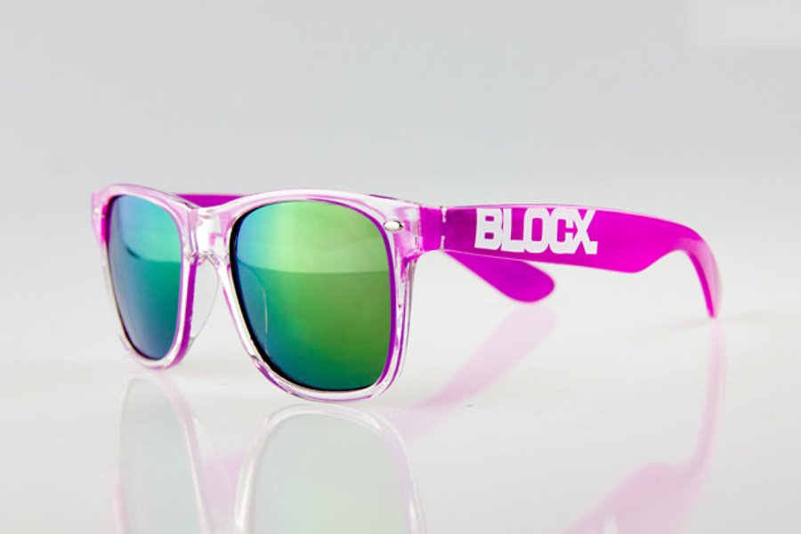 Okulary Blocx Clear x Purple 2014 47