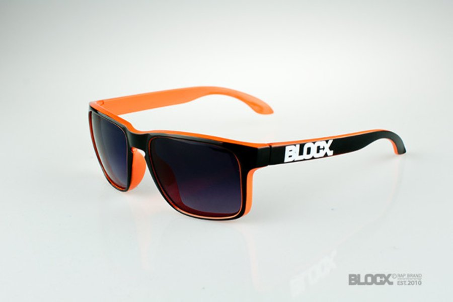 Okulary Blocx Freestyle Black x Orange 2015 33