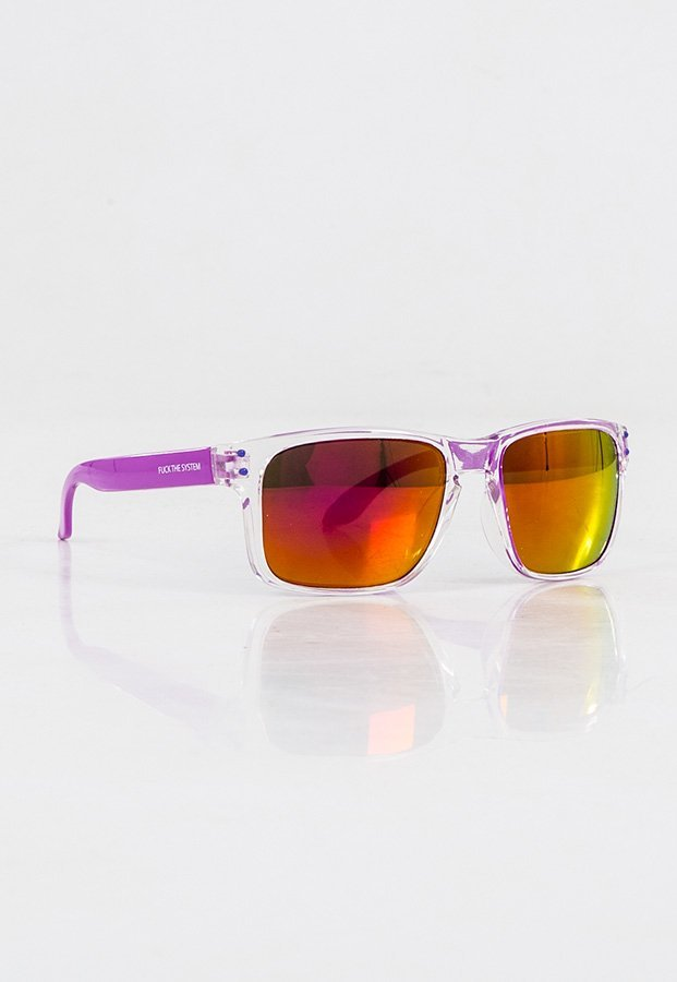 Okulary Blocx Freestyle Clear x Purple 76