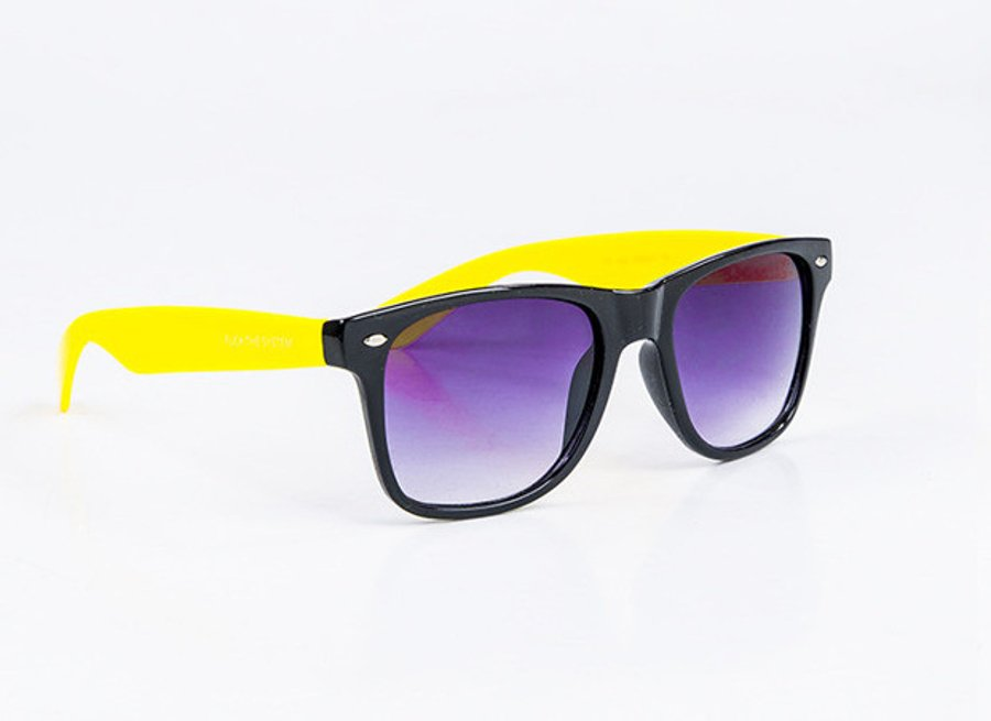 Okulary Blocx New Black x Yellow