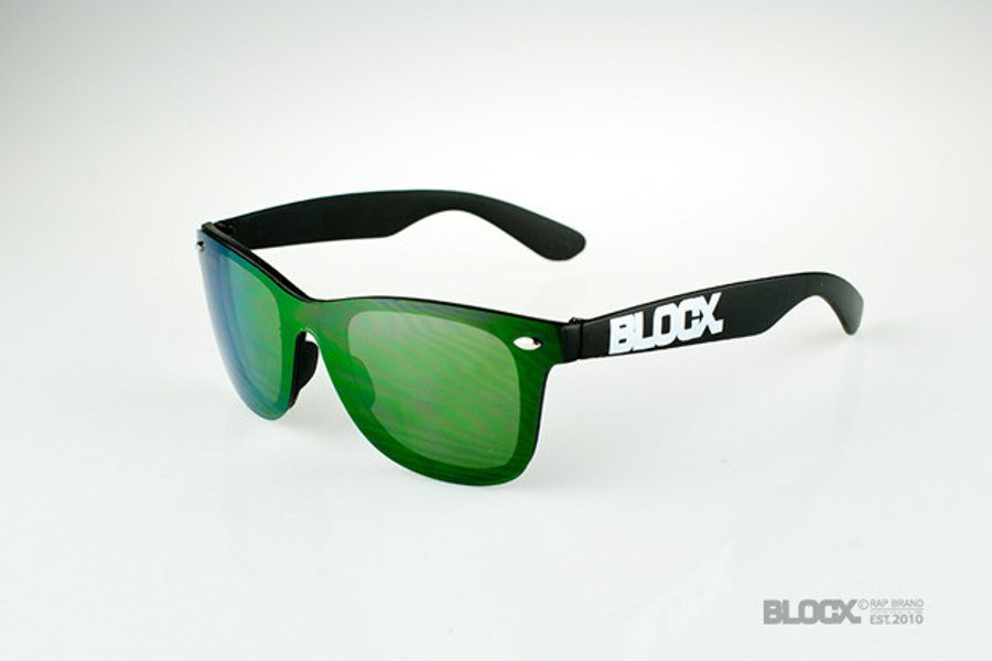 Okulary Blocx One Glass Green 30