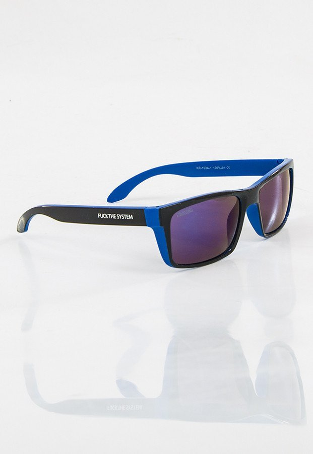 Okulary Blocx Slim X Blue Mirror 13