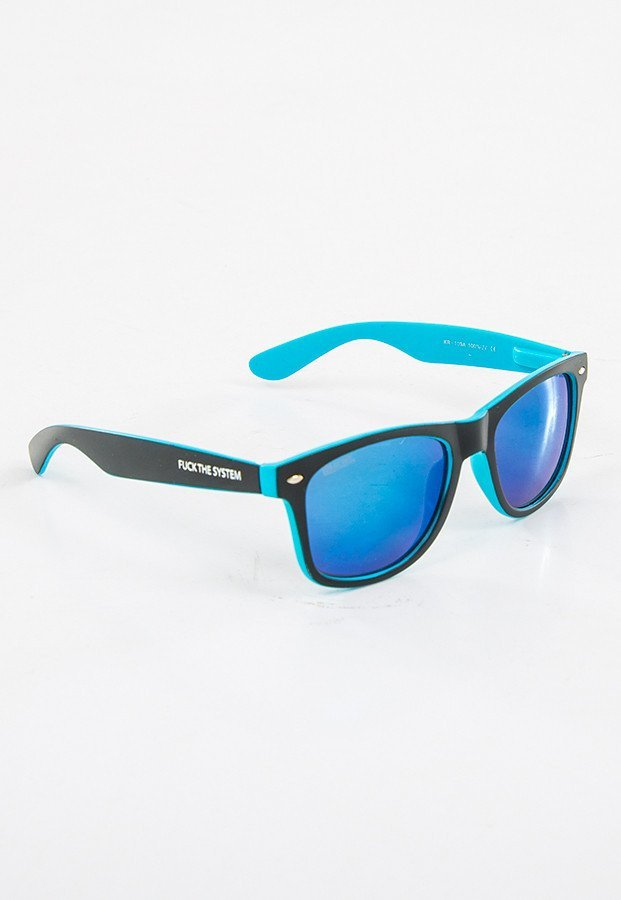 Okulary Blocx Slim X Blue Mirror 21