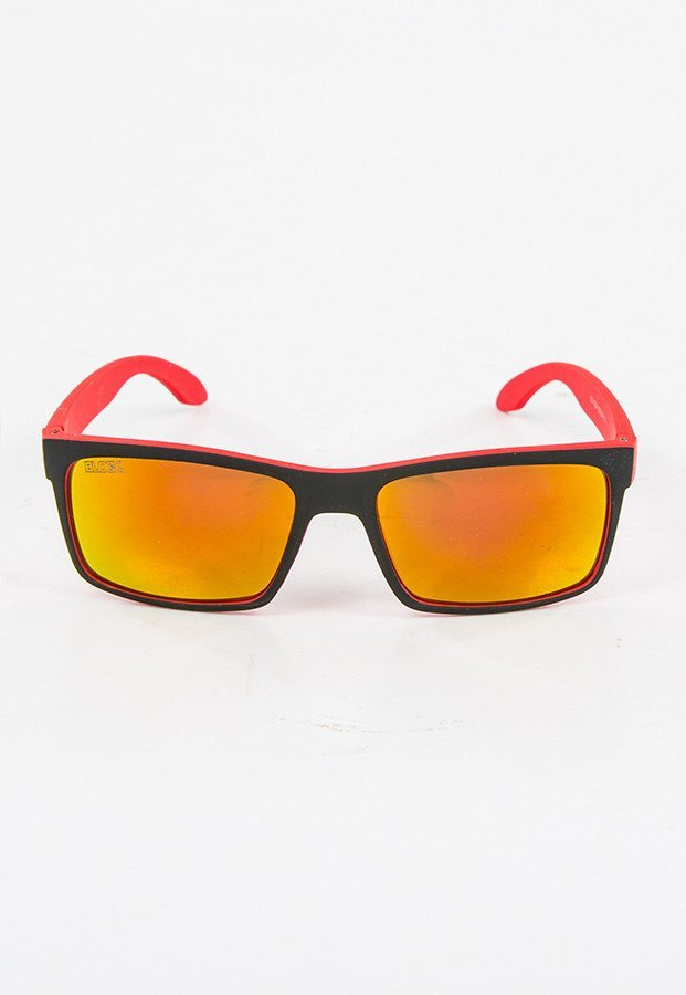 Okulary Blocx Slim X Orange Mat Mirror 22