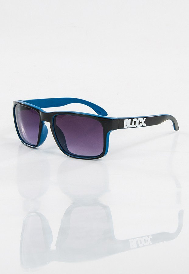 Okulary Blocx Slim x Blue 02