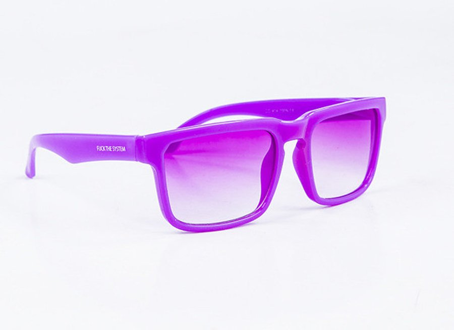 Okulary Blocx Square Purple