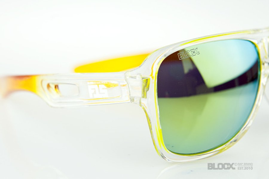 Okulary Blocx Vision Clear x Yellow FTS Mirror 2015 55