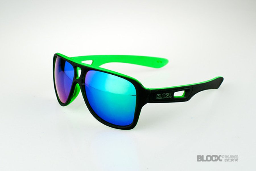 Okulary Blocx Vision FTS X Green Mat 25