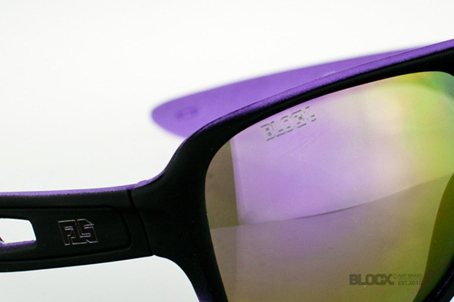 Okulary Blocx Vision FTS X Purple Mat 27