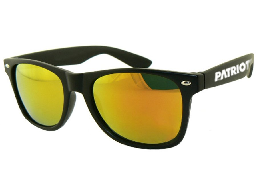 Okulary Patriotic Classic Mat Black Gold 5332
