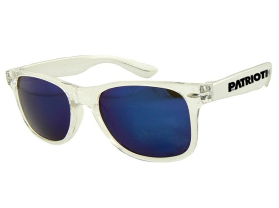 Okulary Patriotic Glass Dark Blue Silver 696