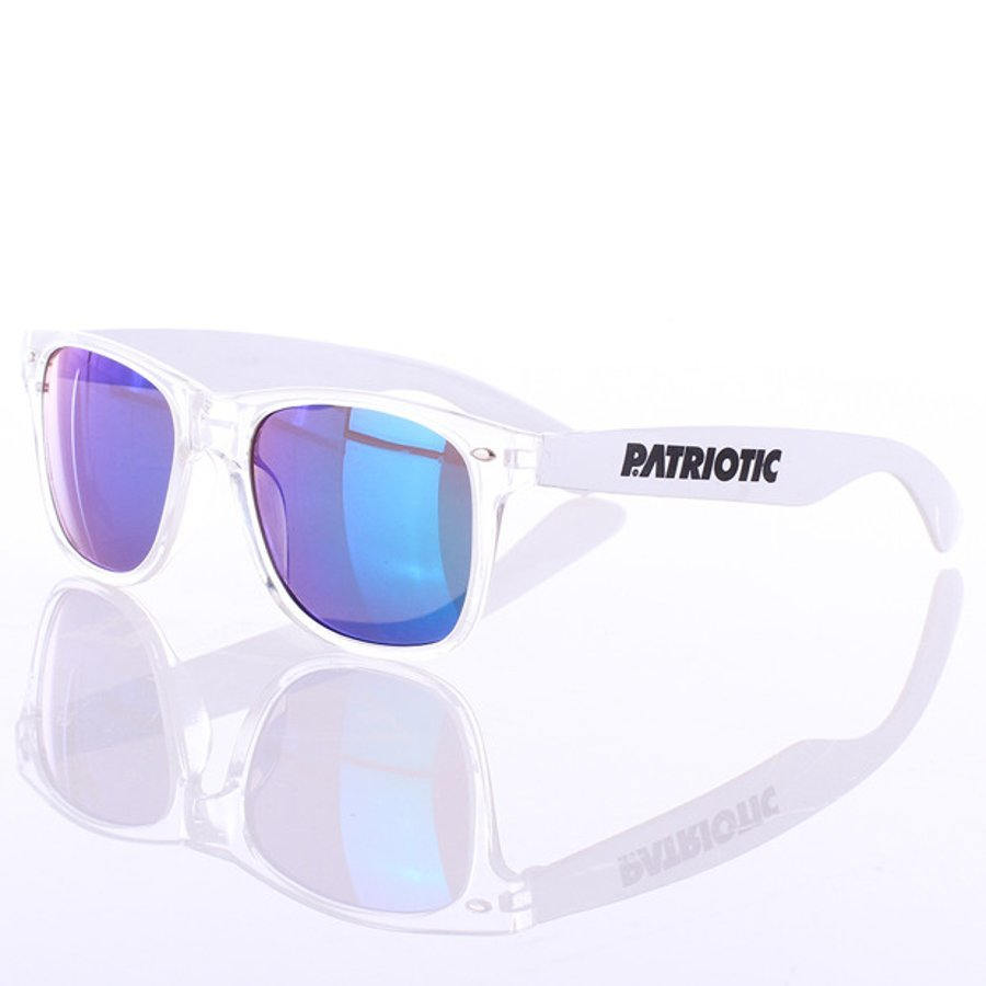 Okulary Patriotic Glass White 3154