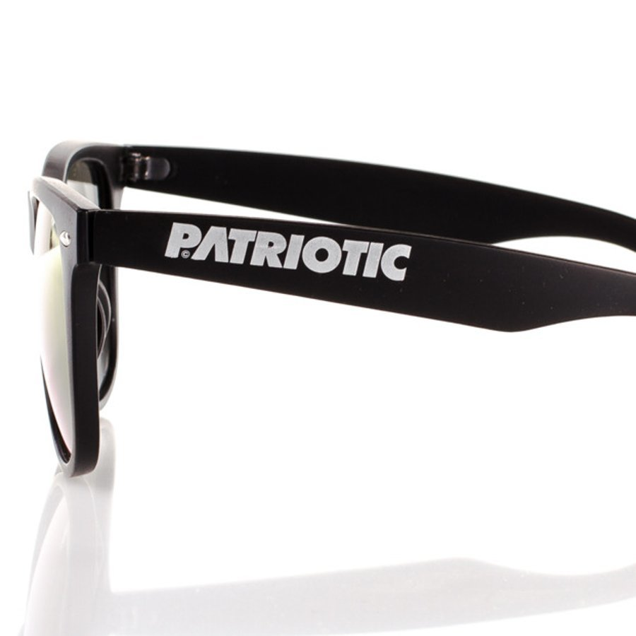 Okulary Patriotic Gold Classic Black Mat 3822