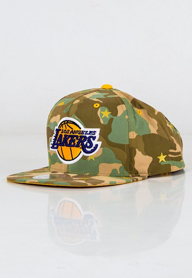 Snap Mitchell & Ness NBA Camo Star LA Lakers