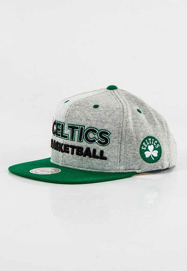 Snap Mitchell & Ness NBA Heather Jersey Boston Celtics