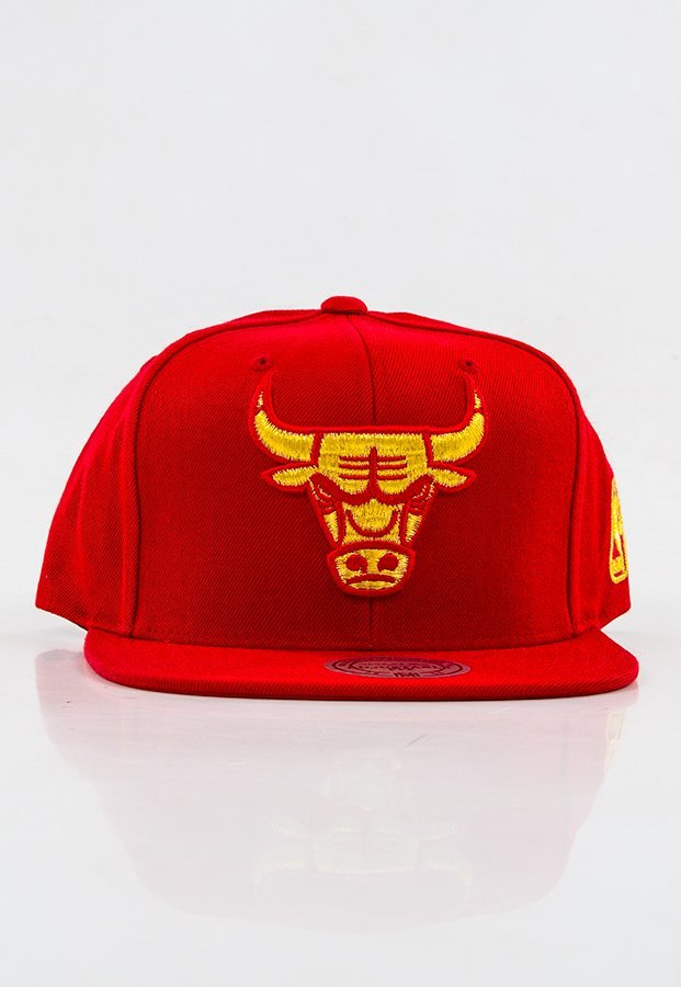 Snap Mitchell & Ness NBA Metallic Logo Chicago Bulls