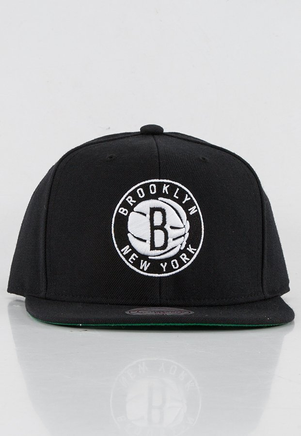 Snap Mitchell & Ness NBA Solid Team Brooklyn Nets