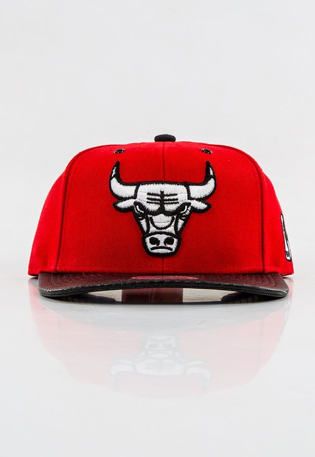 Snap Mitchell & Ness NBA Speedway Chicago Bulls Red