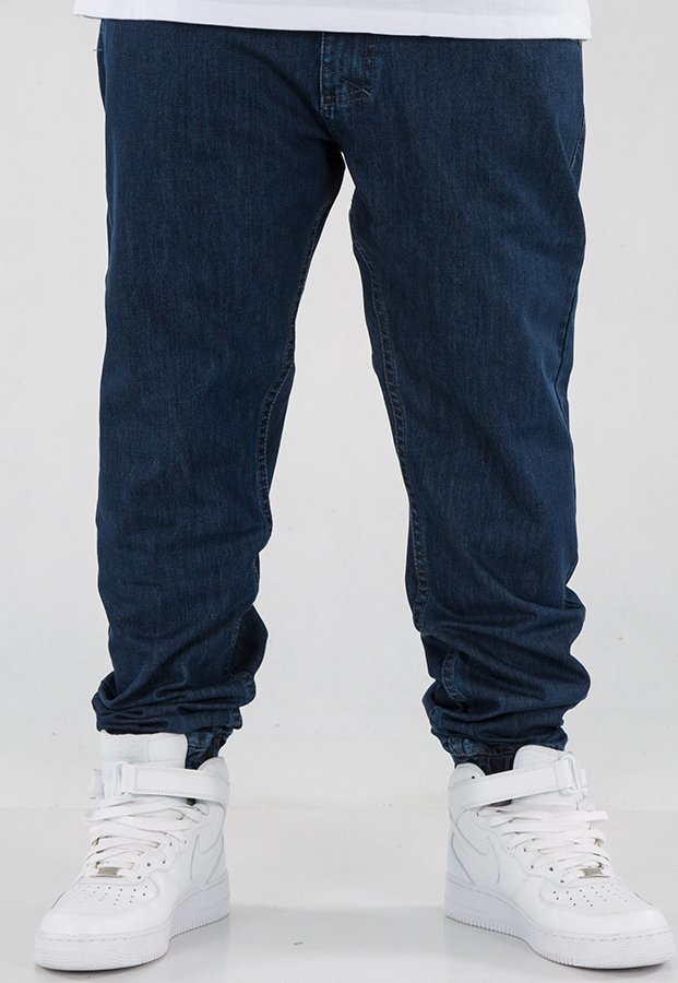 Spodnie Mass Jogger Base Sneaker Fit dark blue
