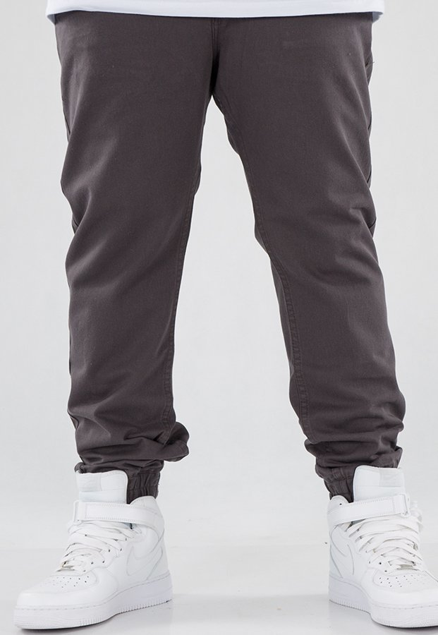 Spodnie Mass Jogger Base Sneaker Fit grey