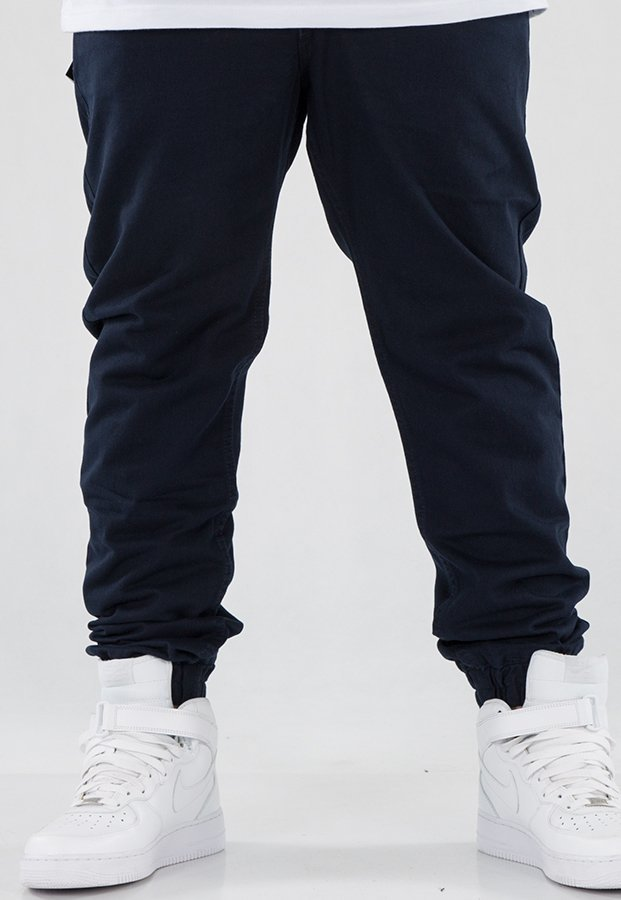 Spodnie Mass Jogger Base Sneaker Fit navy