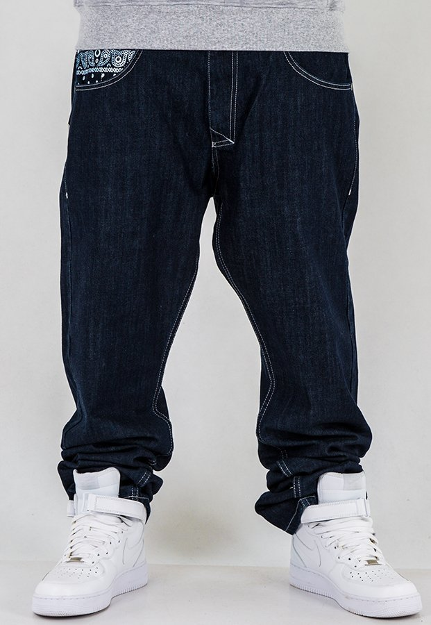 Spodnie Mass Regular Fit Compton dark blue