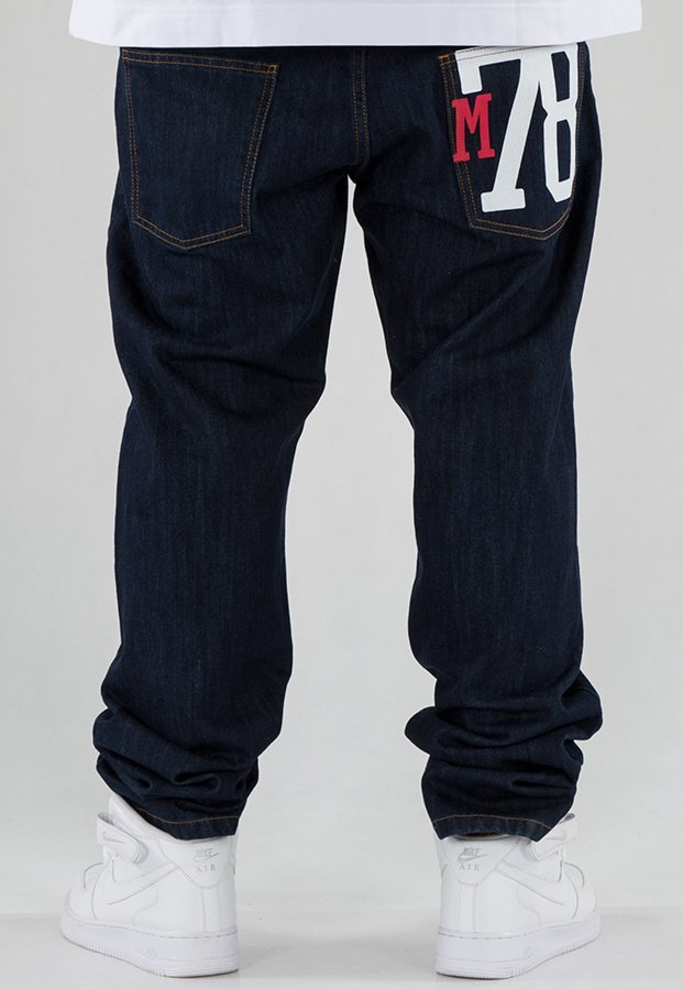 Spodnie Moro Sport Straight Fit 78 dark blue